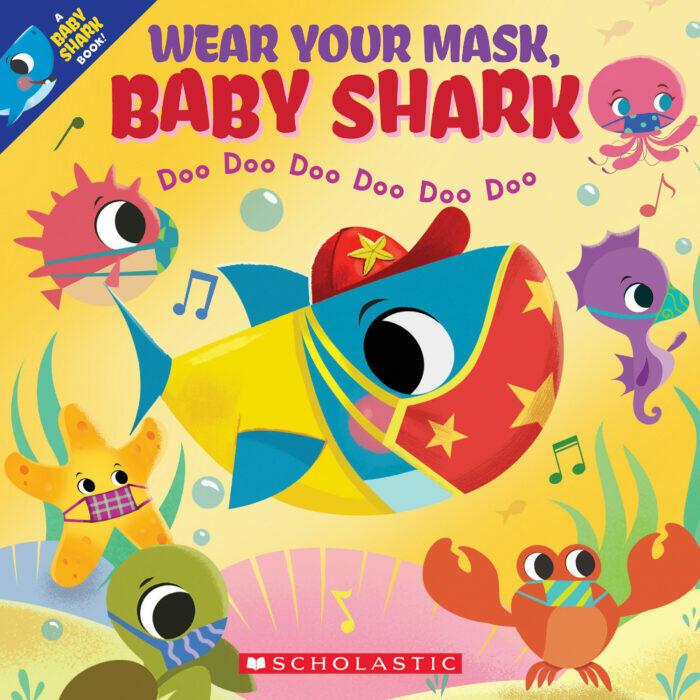 Wear Your Mask Baby Shark - Doo doo doo doo doo - Paperback