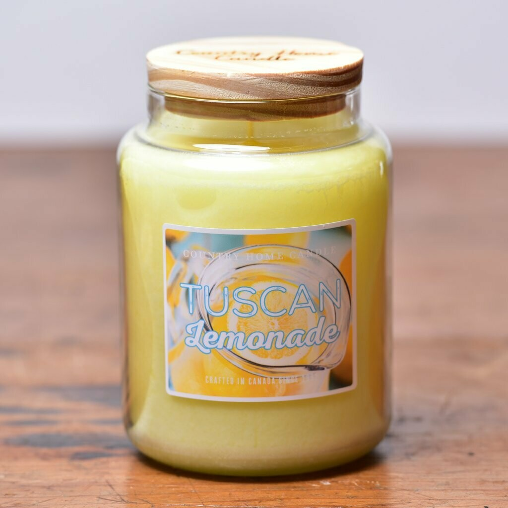 Tucsan Lemonade - Large Jar - Country Home Candle