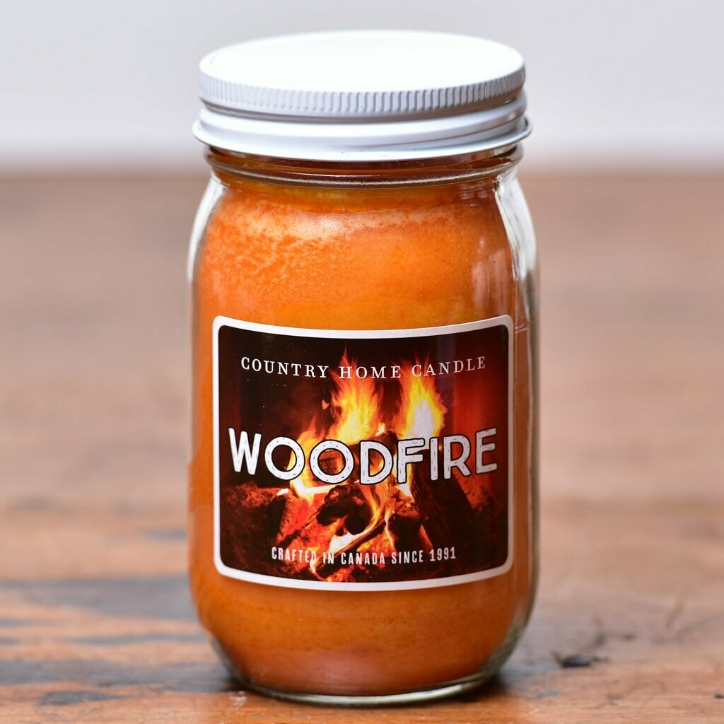 Woodfire - Small Jar - Country Home Candle