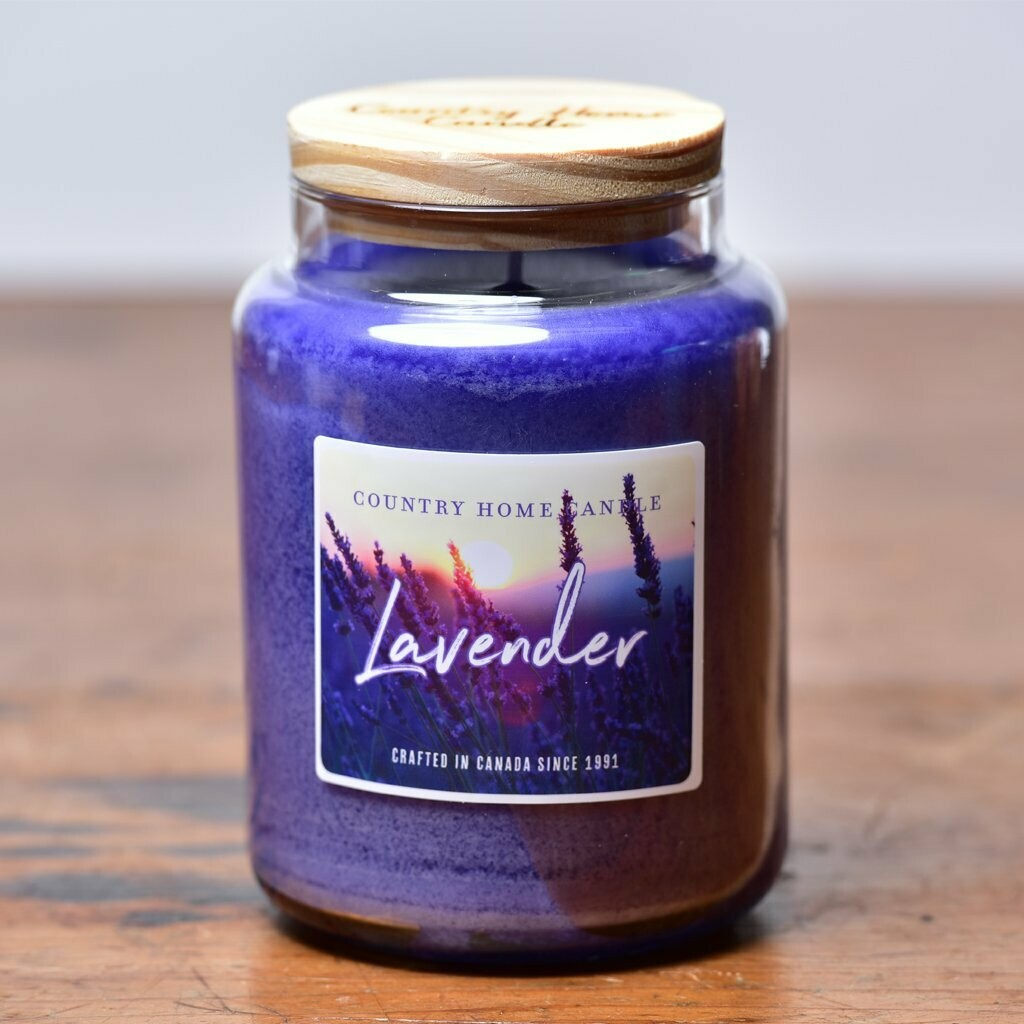 Lavender - Large Jar - Country Home Candle
