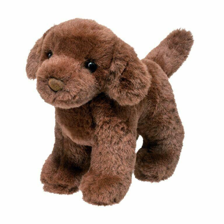 Sylvia - Chocolate Lab Dog - 7 inch - Douglas Plush