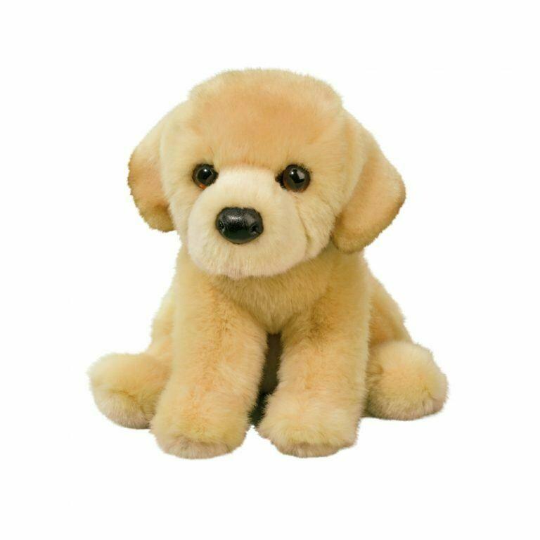 Duffy - Yellow Lab Dog - 10 inch - Douglas Plush