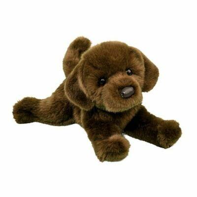 Java - Chocolate Lab Dog - 10 inch - Douglas Plush