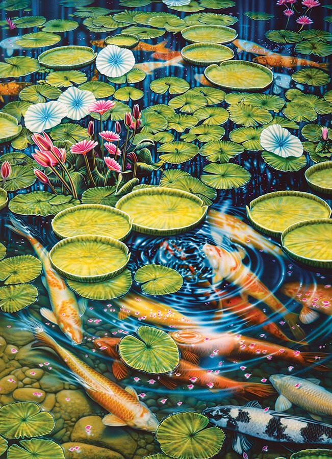 Koi Pond - 1000 Piece Cobble Hill Puzzle