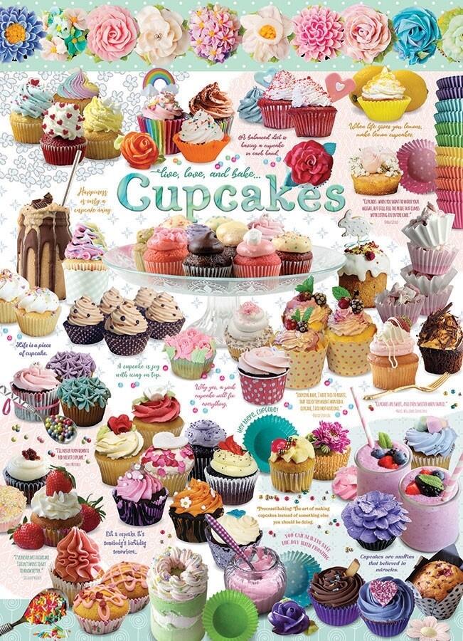Cupcake Time - 1000 Piece Cobble Hill Puzzle