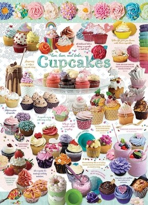 Cupcake Time - 1000 Piece Cobble Hill Puzzle