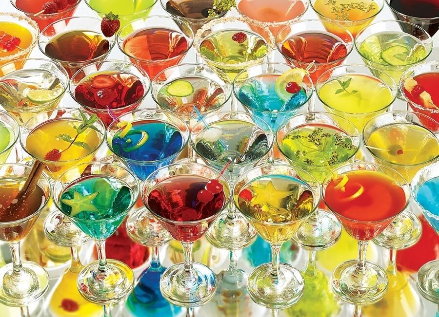 Martinis - 1000 Piece Cobble Hill Puzzle