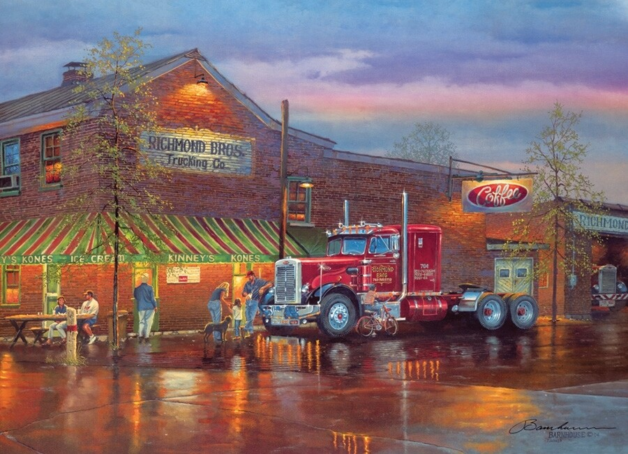 Big Red - 1000 Piece Cobble Hill Puzzle