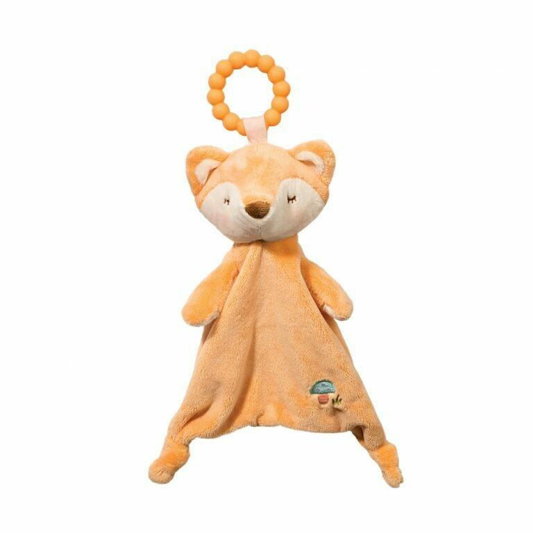 Jordan Fox - Teether Blanket - Lil' Sshlumpie - 13 inch - Douglas Baby