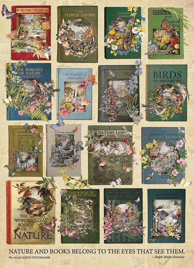 The Nature of Books - 1000 Piece Cobble Hill Puzzle