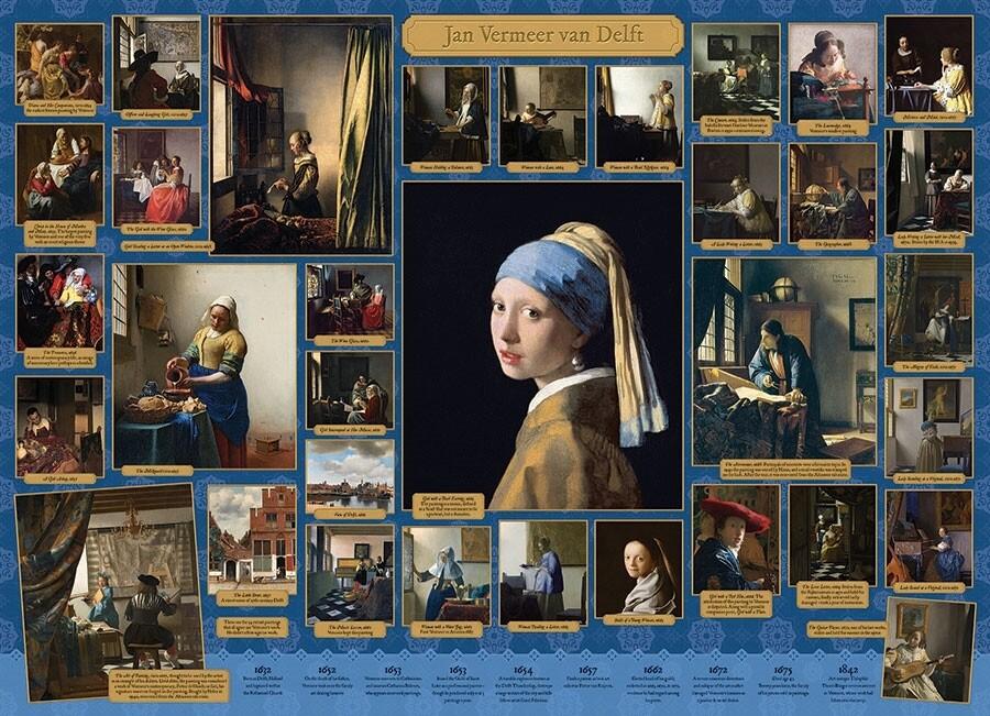 Vermeer - 1000 Piece Cobble Hill Puzzle