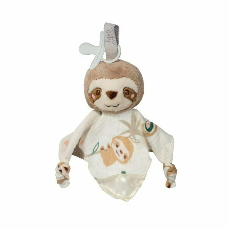 Stanley Sloth - Paci Lovey, Pacifier Holder Blanket - Douglas Baby