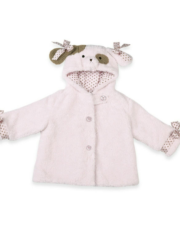 Wiggles Coat - Pink Puppy Dog Coat - 12-24 month size - Bearington Baby