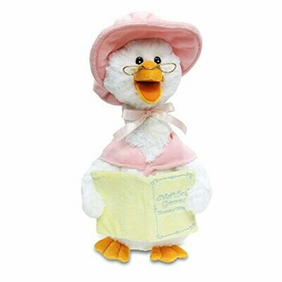 Mother Goose - Pink - Recites Nursery Rhymes and Moves - Cuddle Barn