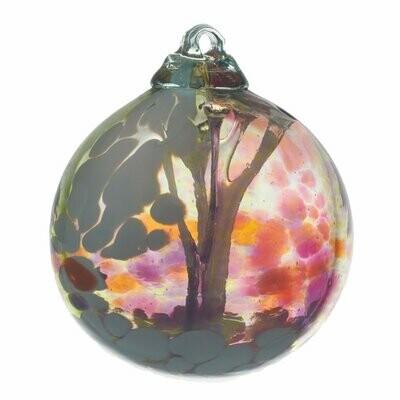 "3"" Fairy Orb Friendship Ball - Summer Fairy - Canadian Blown Glass"