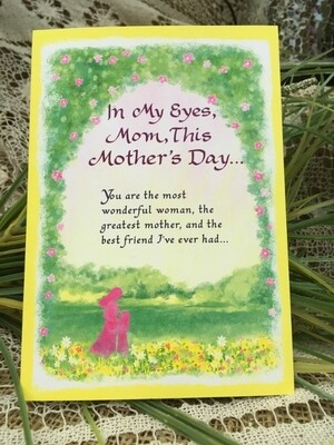 Mother's Day - In My Eyes Mom, This Mother's Day.... - Tri-fold - Blue Mountain Arts