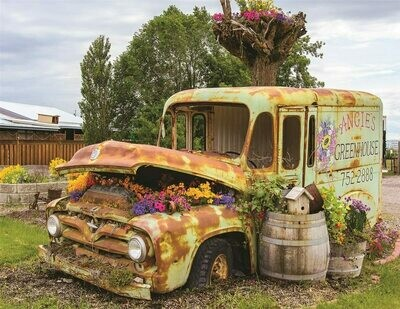 Flower Truck - 500 Piece Springbok Puzzle