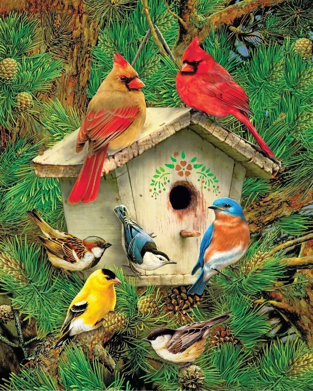 Feathered Retreat - 1000 Piece Springbok Puzzle