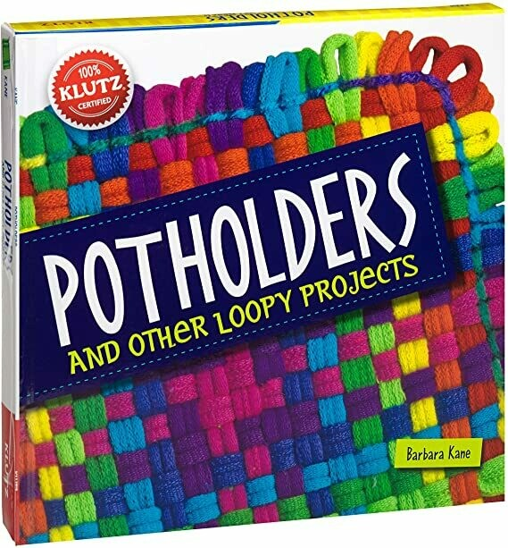 Klutz - Pot Holders and other Loopy Projects - Craft Book - Contains everything you need - Scholastic Books