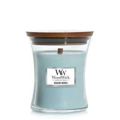 Seaside Neroli - Medium - WoodWick Candle