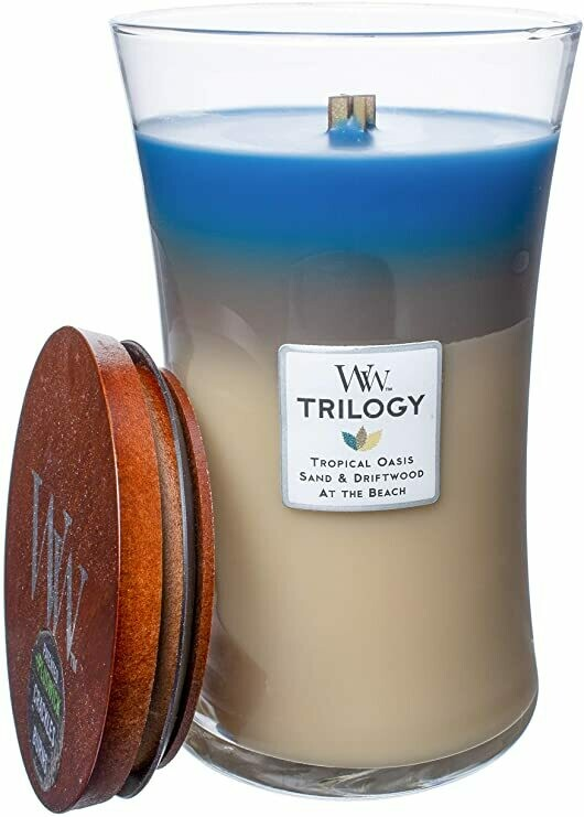 Nautical Escape - Large Trilogy - WoodWick Candle