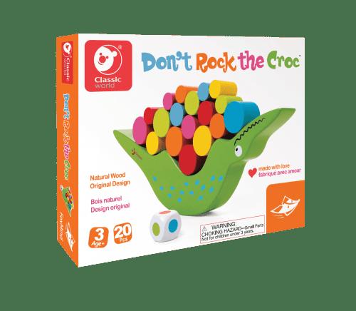 Don't Rock the Croc - Wooden - ages 3+