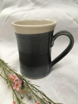 Large Mug, Black & White - Pavlo Pottery - Canadian Handmade