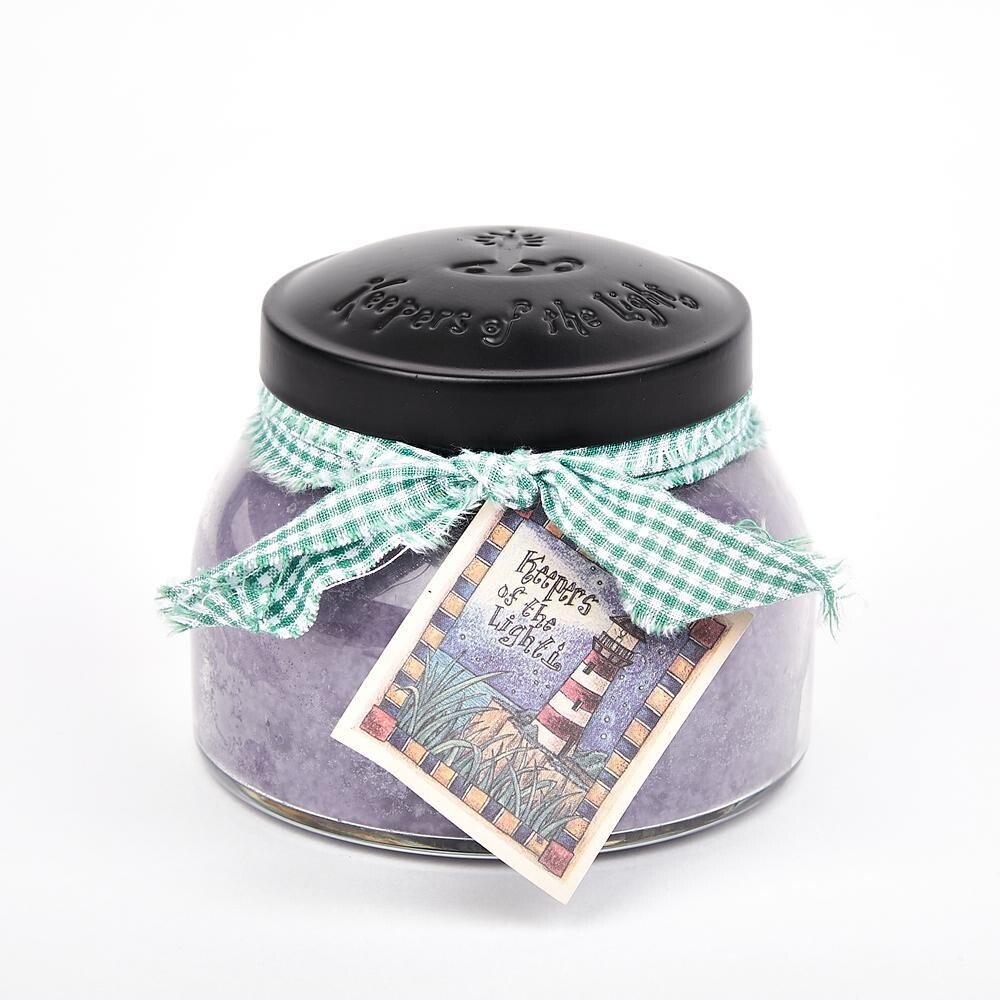 Lavender  Vanilla - Mama Jar - 22 oz - Double Wick - Keepers of the Light Candle