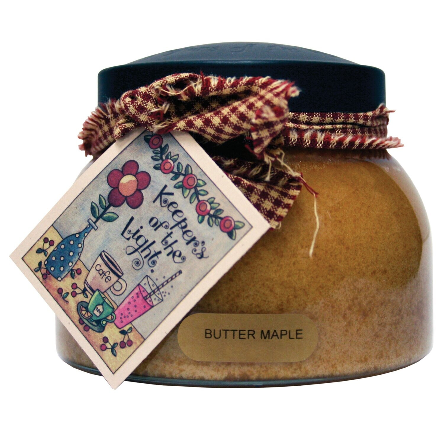 Butter Maple - Mama Jar - 22 oz - Double Wick - Keepers of the Light Candle