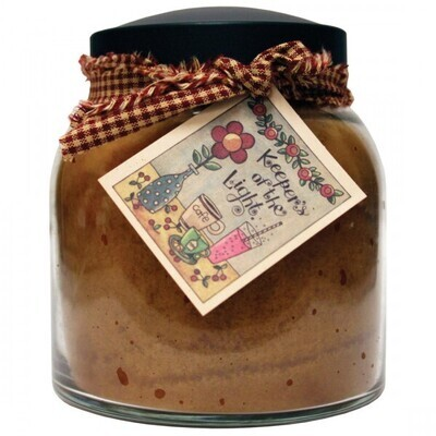 Butter Maple - Papa Jar - 34 oz - Double Wick - Keepers of the Light Candle