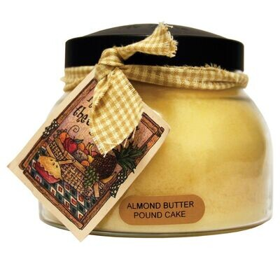 Almond Butter Pound Cake - Mama Jar - 22 oz - Double Wick - Keepers of the Light Candle
