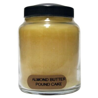 Almond Butter Pound Cake - Baby Jar - 6 oz - Keepers of the Light Candle