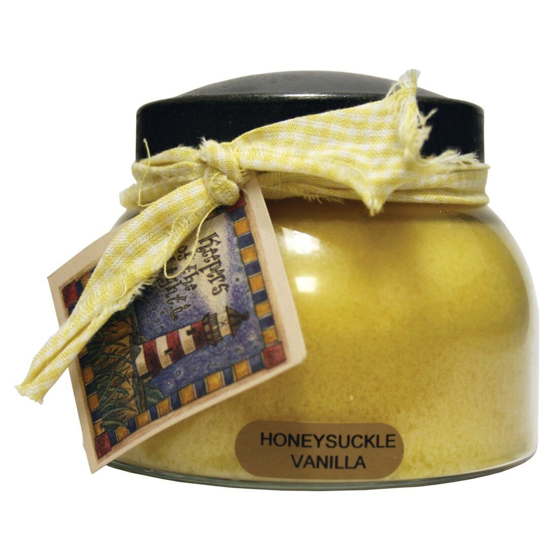Honeysuckle Vanilla - Mama Jar - 22 oz - Double Wick - Keepers of the Light Candle