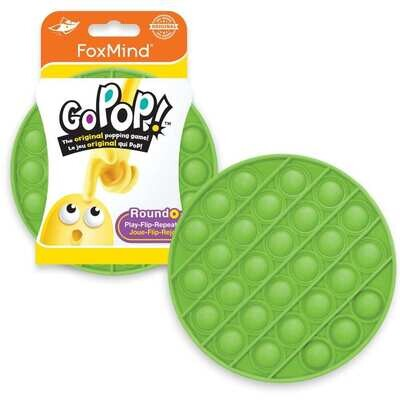 Go Pop! / Last One Lost - NEON GREEN - Original Fidget Popping Game for 2 or more players - Just POP IT!