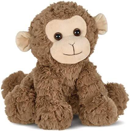Giggles - Monkey - 9.5 inches - Bearington Plush