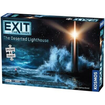Exit - The Deserted Lighthouse - Includes 4 Jigsaw Puzzles
