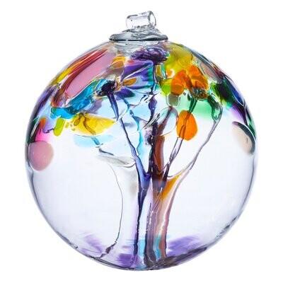 "2"" Tree of Enchantment Friendship Ball - Joy - Canadian Blown Glass"