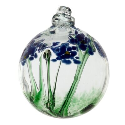 """3"""" Blossom Friendship Ball - Thinking of You - Canadian Blown Glass"""