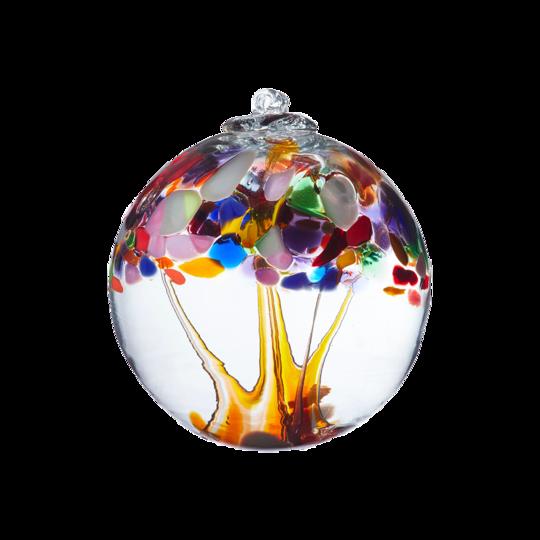 "Tree of Enchantment 6"" - Adventure - Friendship Ball - Canadian Blown Glass"