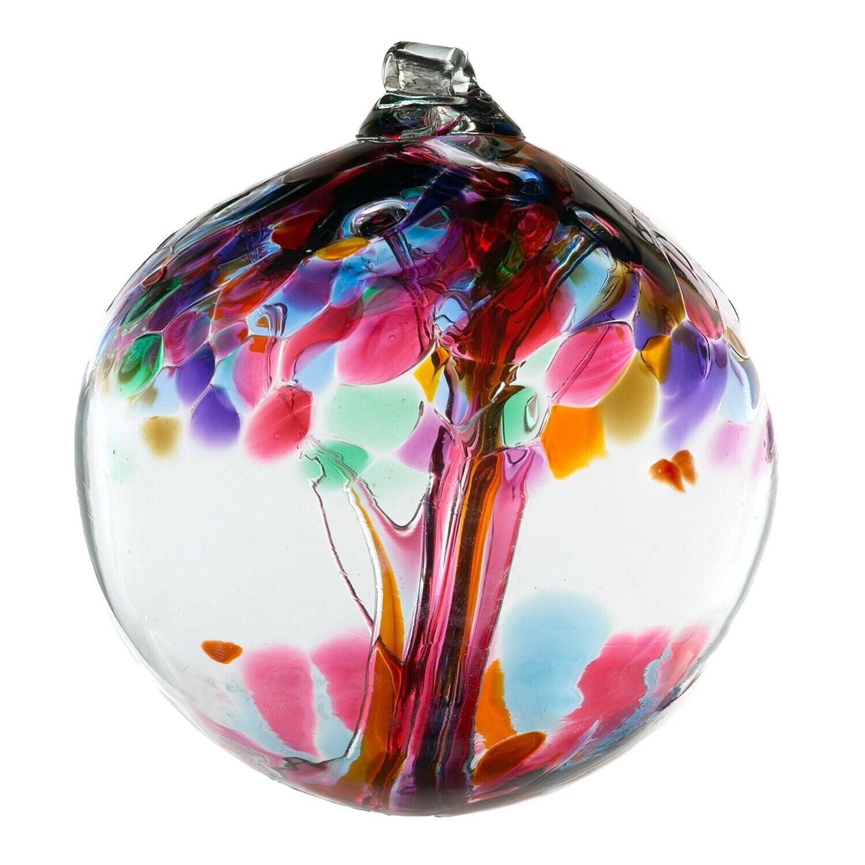 "Tree of Enchantment 6"" - Friendship - Friendship Ball - Canadian Blown Glass"