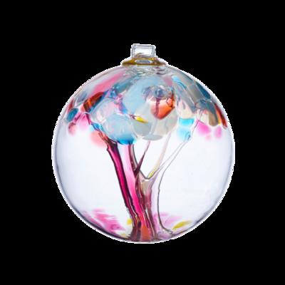 "2"" Tree of Enchantment Friendship Ball - Memories - Canadian Blown Glass"