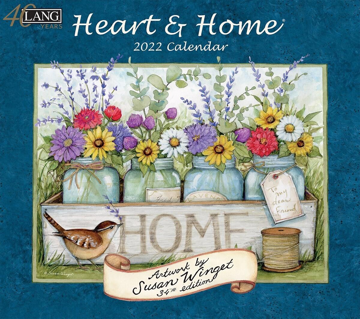 Lang Calendar - Heart and Home - Susan Winget