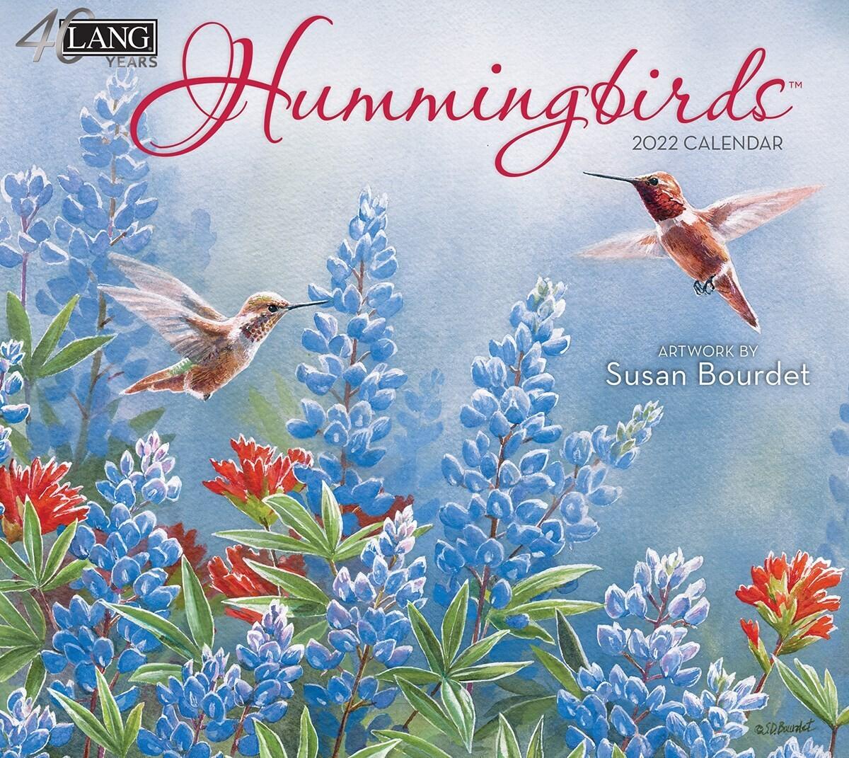 Lang Calendar - Hummingbirds - Susan Bourdet