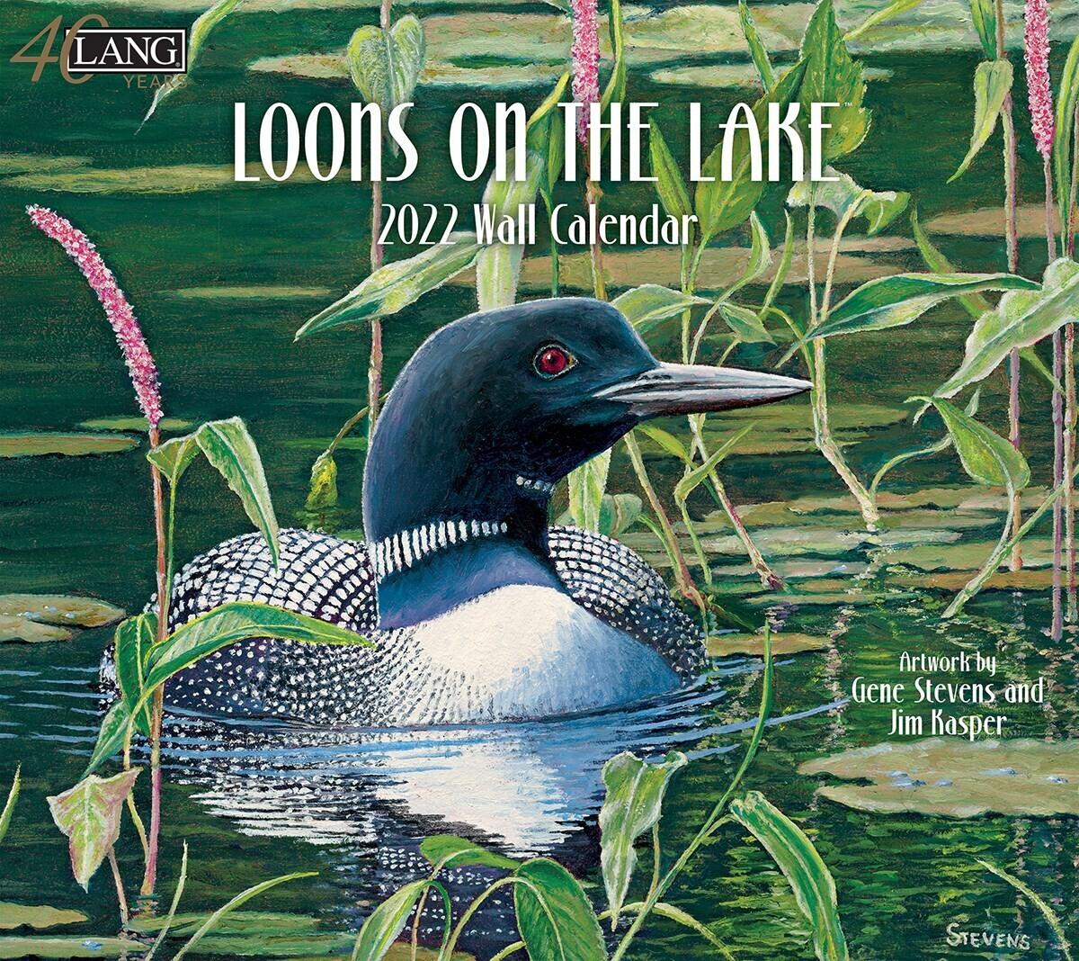 Lang Calendar - Loons on the Lake - Gene Stevens and Jim Kasper