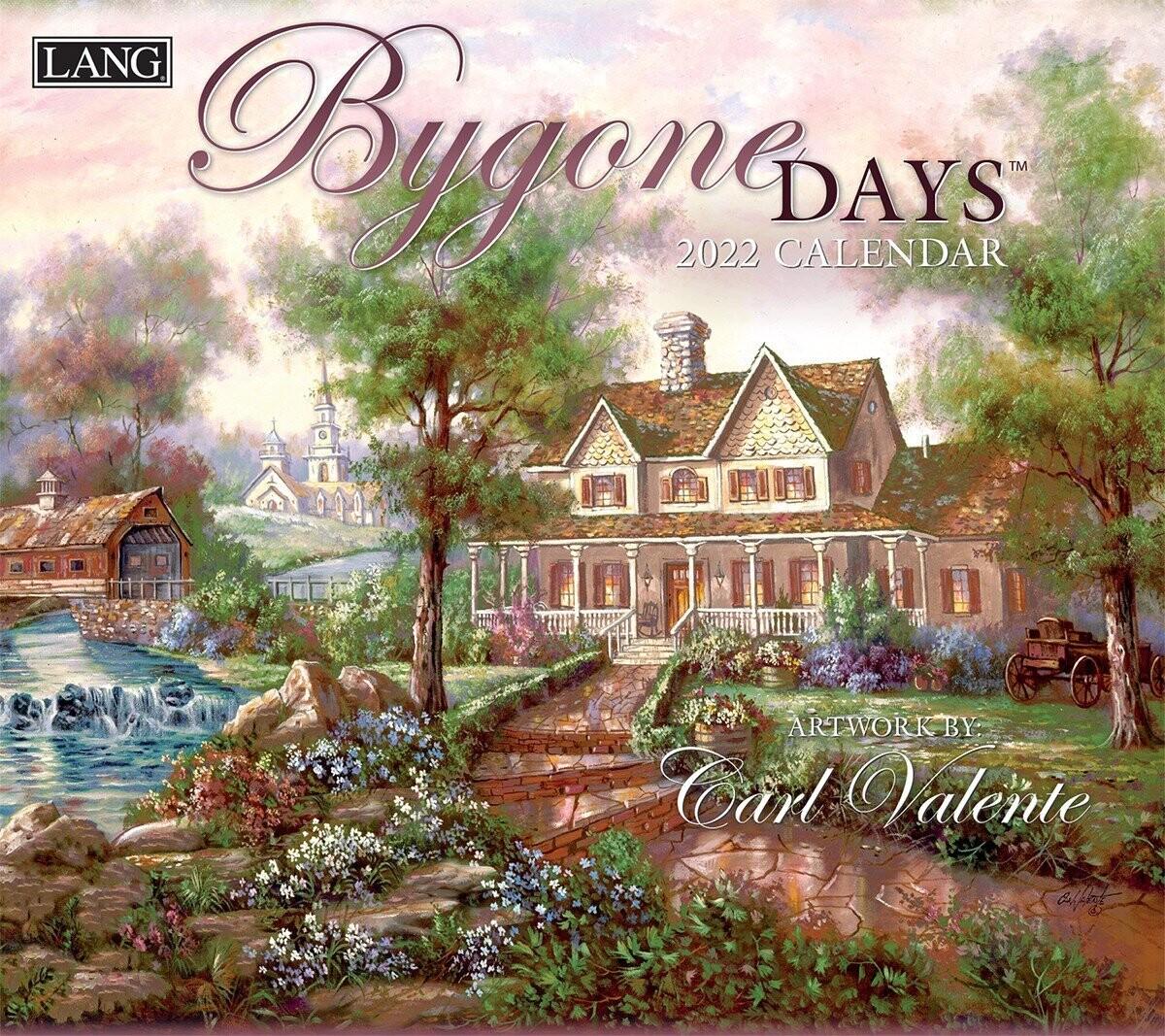 Lang Calendar - Bygone Days - Carl Valente