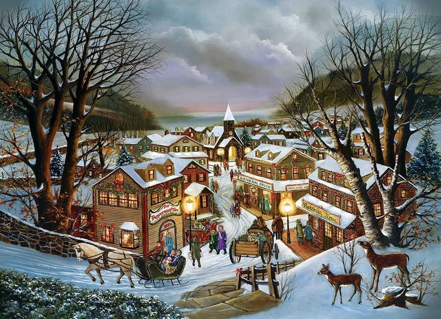I Remember Christmas - 1000 Piece Cobble Hill Puzzle