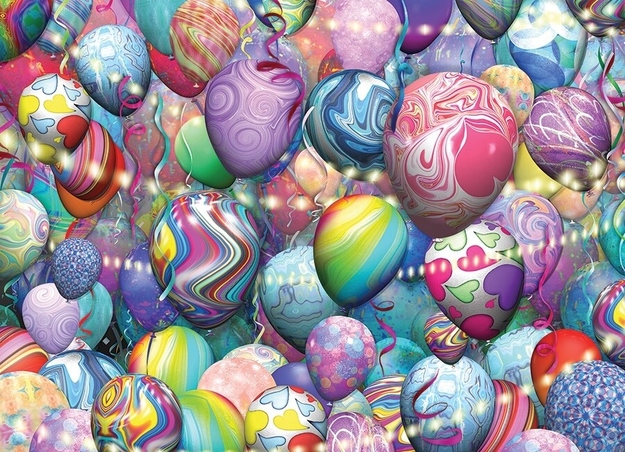 Party Balloons - 500 Piece Cobble Hill Puzzle
