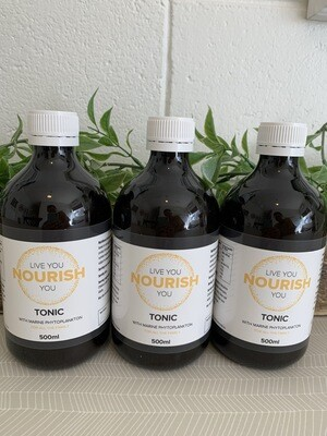 Nourish Tonic - With Marine Phytoplankton (3 Month Supply)