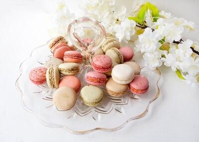 25 Gourmet Savoury Macarons