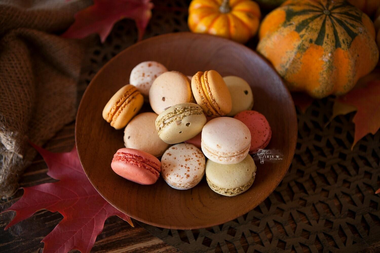 10 Gourmet Savoury Macarons